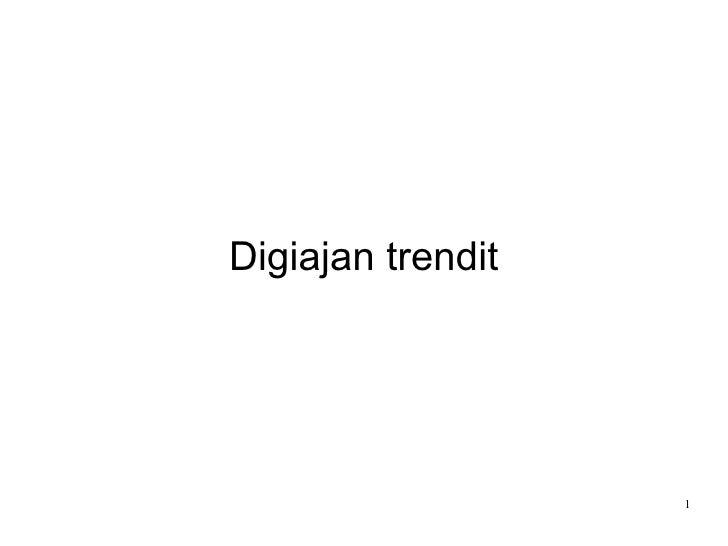 Digiajan Trendit