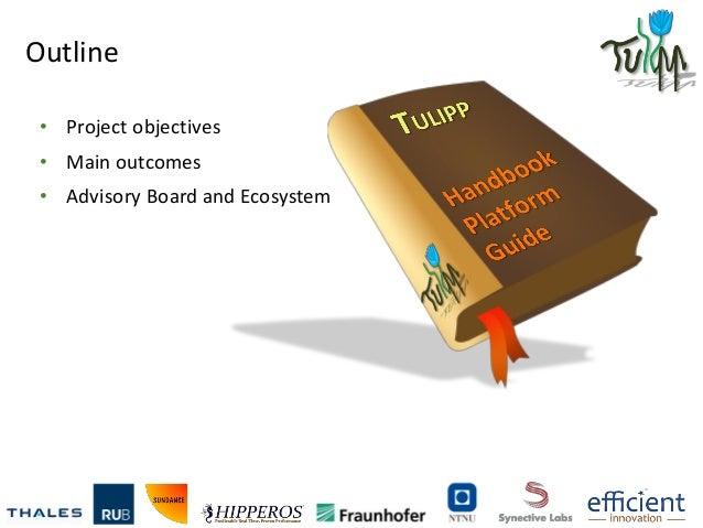 Tulipp_H2020_Hipeac'17 Conference_PEPGUM Workshop_January 017 Slide 3