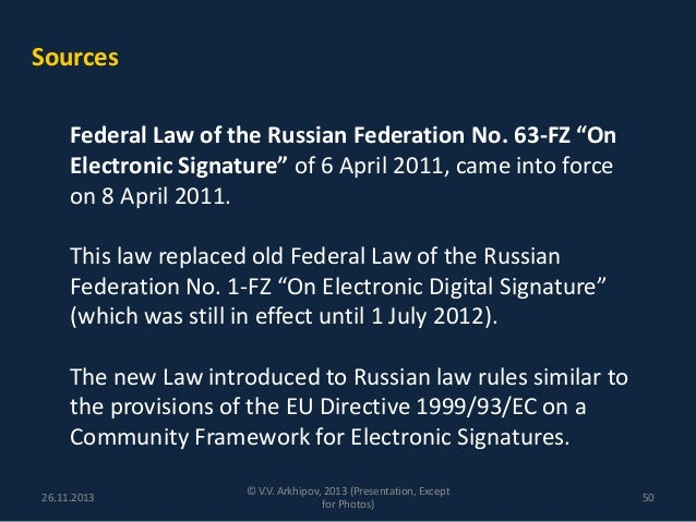 Electronic Signatures (OBServing Law)