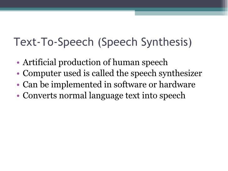 speech activity server
