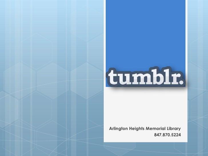 Arlington Heights Memorial Library                    847.870.5224