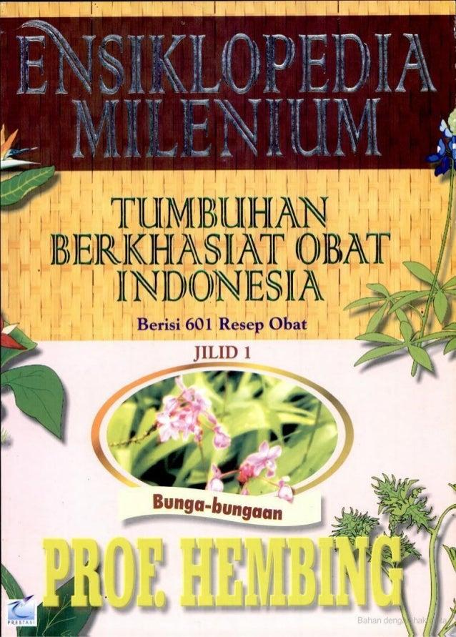 Tumbuhan Berkhasiat Obat Indonedia Jilid 1