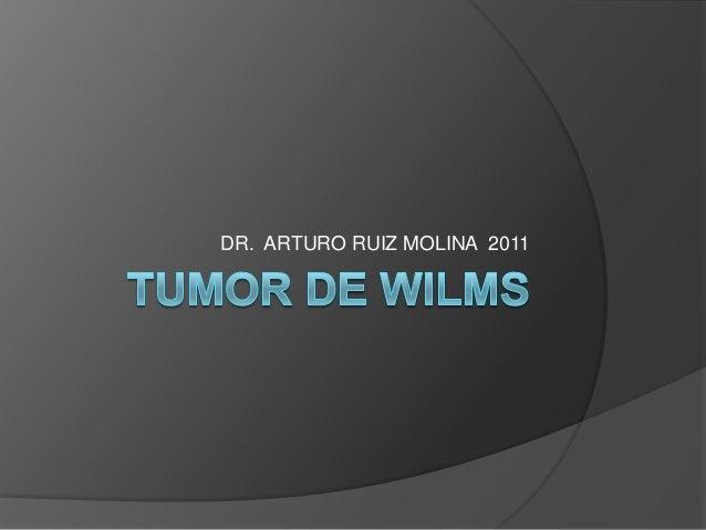 DR. ARTURO RUIZ MOLINA 2011