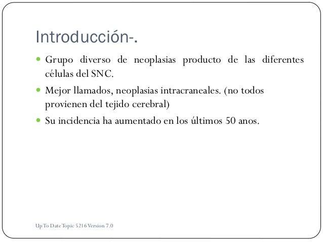 Tumores cerebrales Slide 2