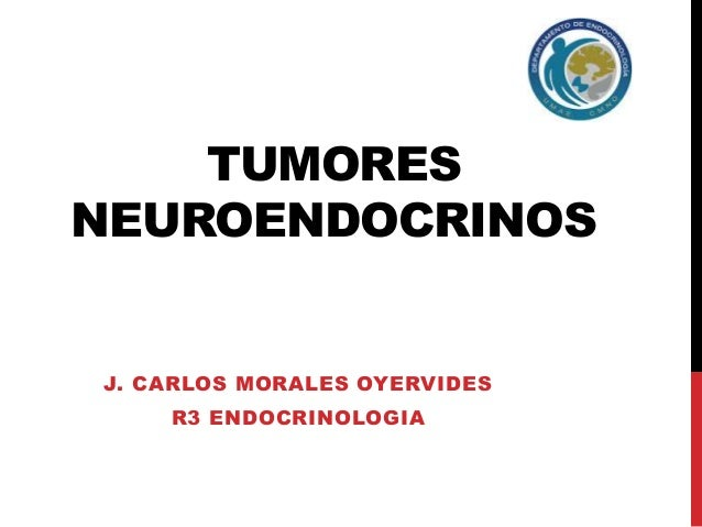 TUMORES  NEUROENDOCRINOS  J. CARLOS MORALES OYERVIDES  R3 ENDOCRINOLOGIA