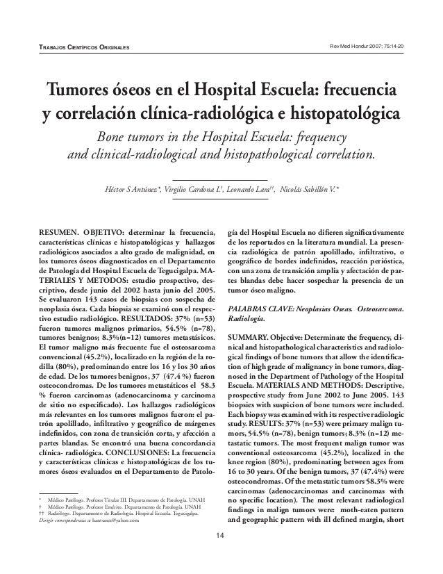 Rev Med Hondur Vol. 75 OriginalesTrabajos Científicos                                                                     ...