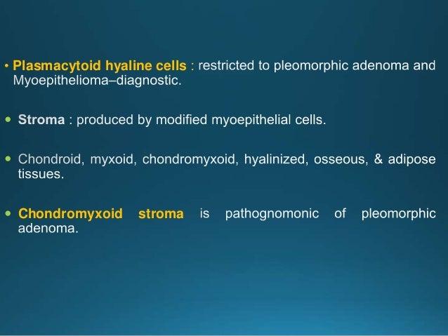 Metastasizing pleomorphic adenoma
