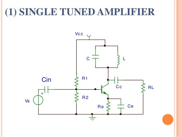 single tuned voltage amplifier theory pdf