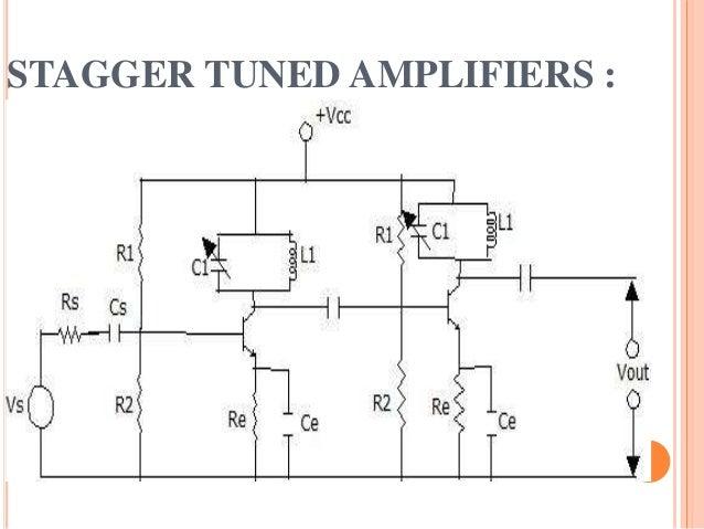 Single Tuned Amplifier Circuit Diagram   Tuned Amplifire