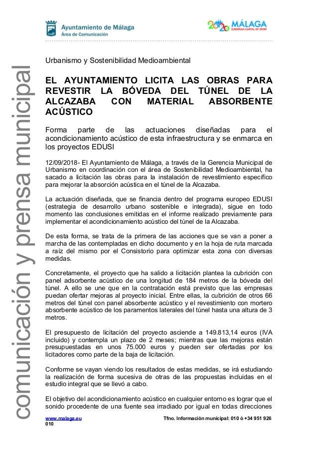 3a6520690291 comunicaci nyprensamunicipal Urbanismo y Sostenibilidad Medioambiental EL  AYUNTAMIENTO LICITA LAS OBRAS PARA REVESTIR LA B ...