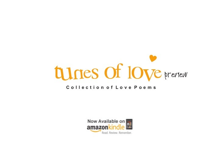 TUNES OF LOVE Collection of Love Poems                            Preview