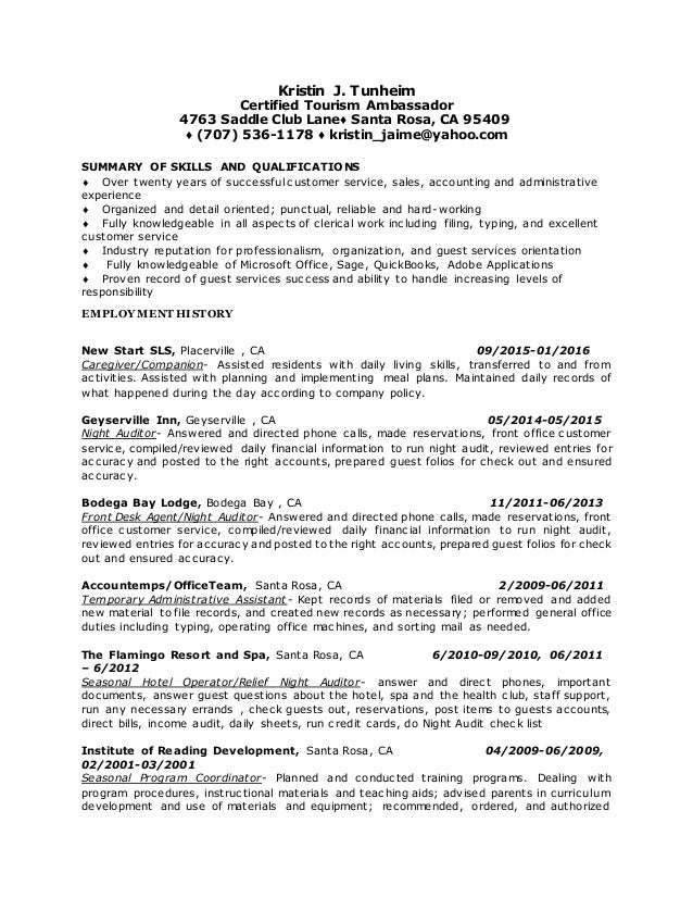office machines list resume