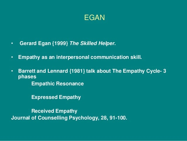 counselling egan essays Created date: 7/6/2010 11:11:36 am.