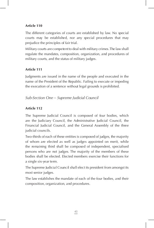 Article 120 The Constitutional Court is the sole body competent to oversee the constitutionality of the following: - Draf...