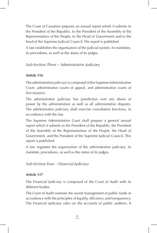 Chapter Six – Independent Constitutional Bodies  Article 125 The independent constitutional bodies work to support democra...