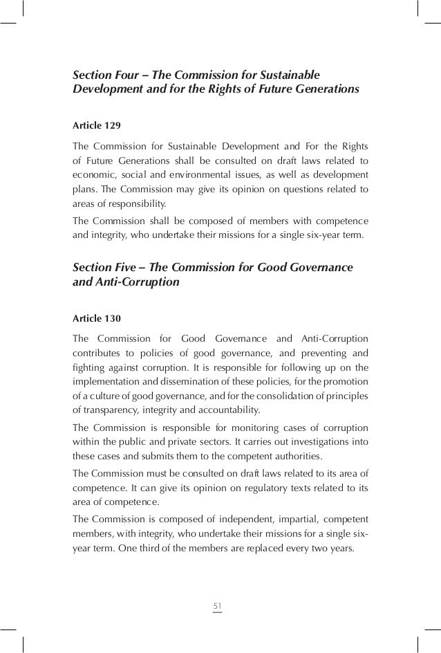 Chapter Eight – Revision of the Constitution  Article 143 The right to propose revision of the Constitution is held by the...
