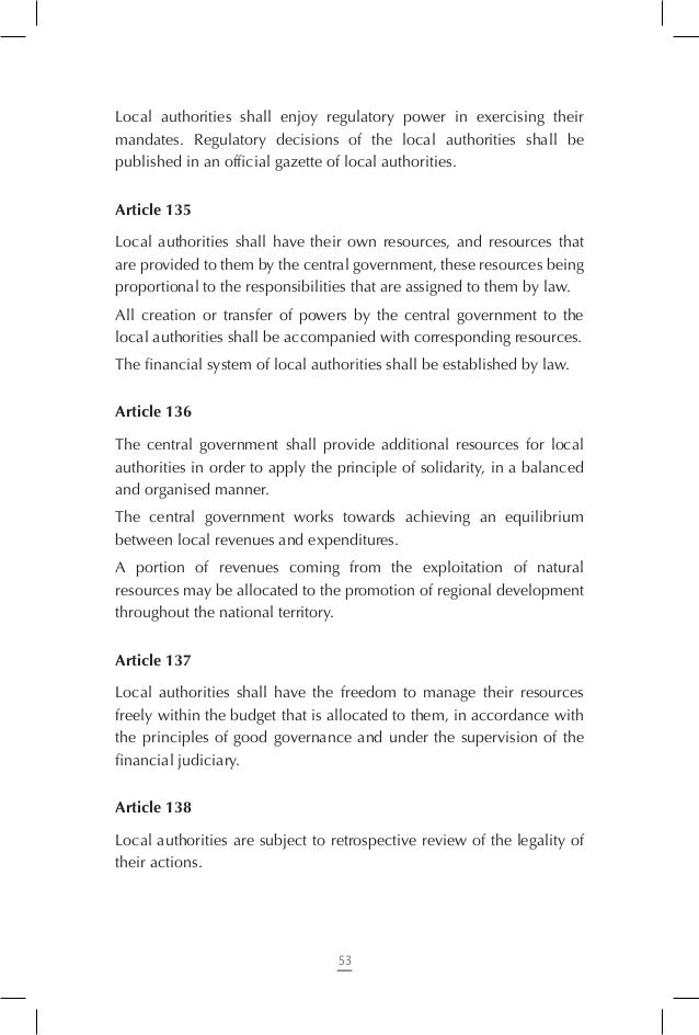 Chapter Ten – Transitional Provisions  Article 148 1. The dispositions of articles 5, 6, 8, 15 and 16 of the law relating...