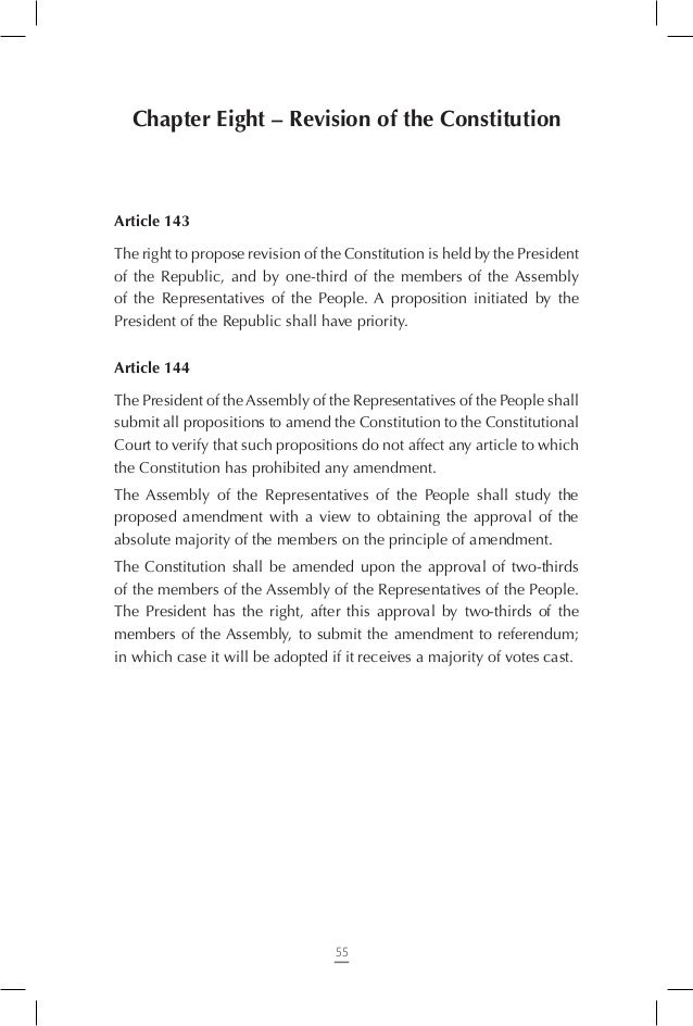 6. The two first partial renewals of the Constitutional Court, of the Elections Commission, of the Audio-visual Communica...
