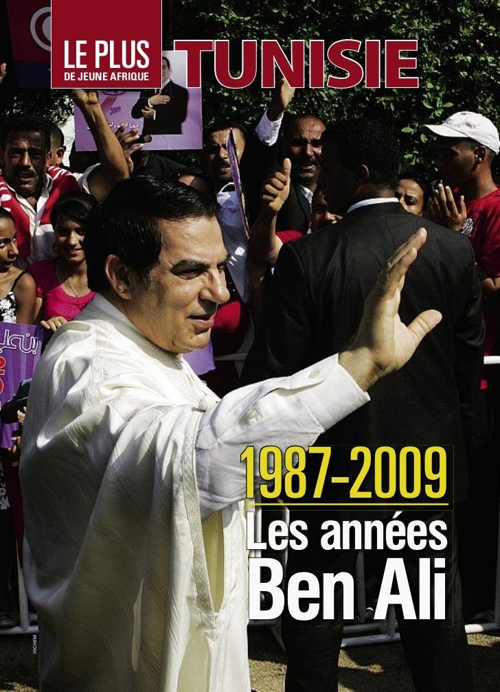 LE PLUS         DE JEUNE AFRIQUE                            TUNISIE                             1987-2009                 ...