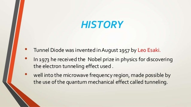Zener Diode Invention History
