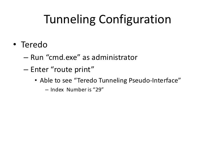 Fix: Teredo Tunnelling Pseudo-interface Foutcode 10 - k2rx.com