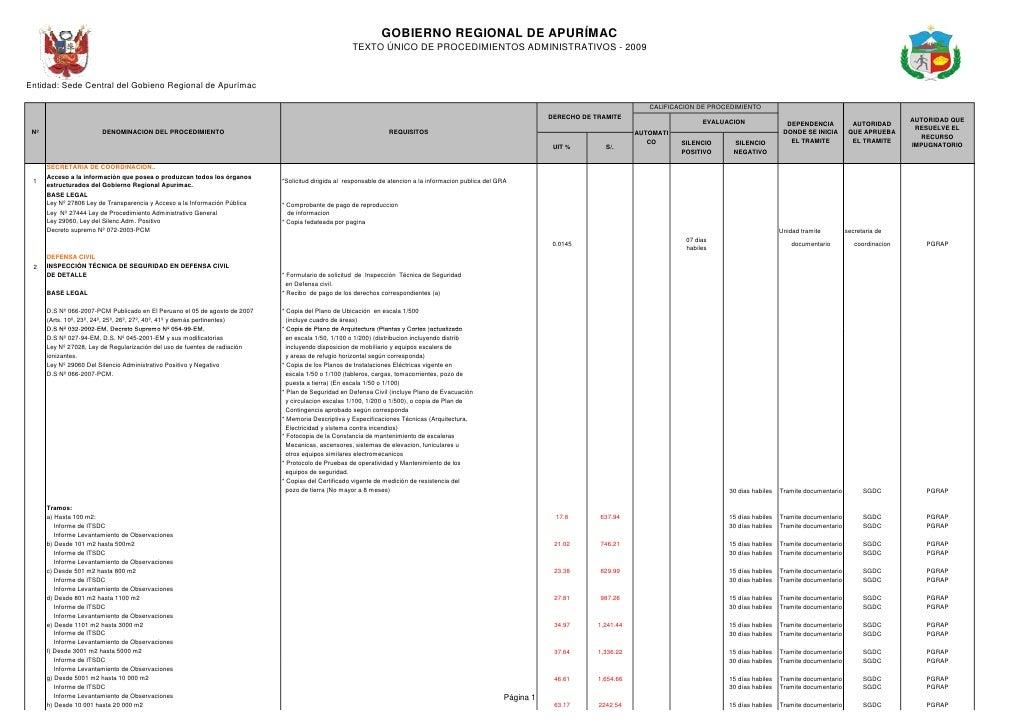 GOBIERNO REGIONAL DE APURÍMAC                                                                                             ...
