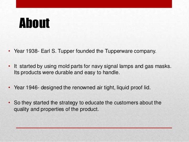 tupperware marketing strategies essay Tupperware marketing strategies (2005, june 30) in writeworkcom retrieved 14:56, august 12, 2018, from .