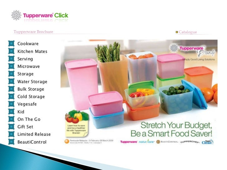 tupperware catalogue. Black Bedroom Furniture Sets. Home Design Ideas