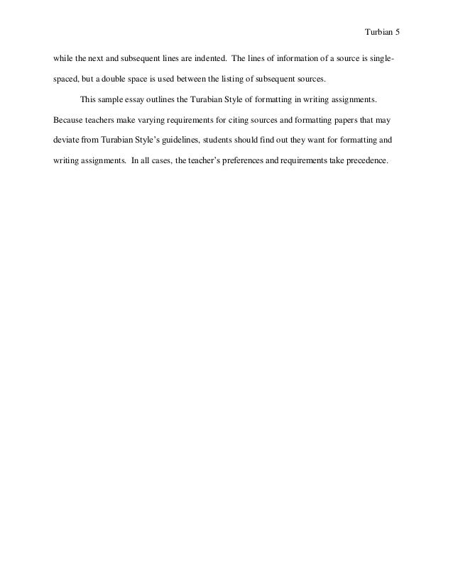 turabian example paper footnotes sample paper austin peay stat  5