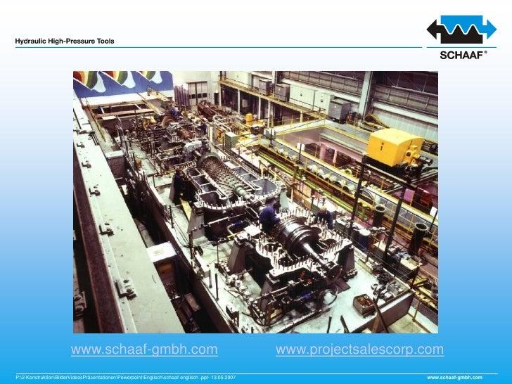 www.schaaf-gmbh.com                                                         www.projectsalescorp.com P:2-KonstruktionBilde...