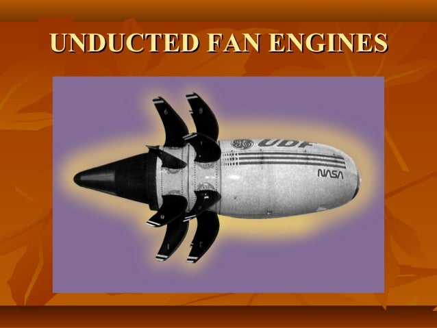 30  unducted fan engines