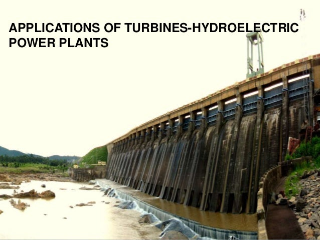 applications of hydroelectric power plant pdf