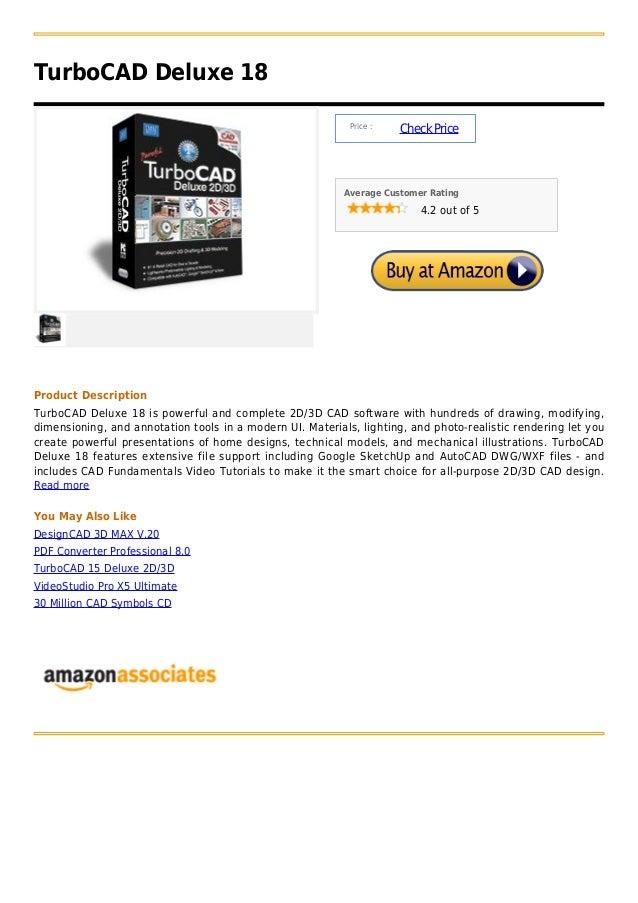 TurboCAD Deluxe 18                                                            Price :                                     ...