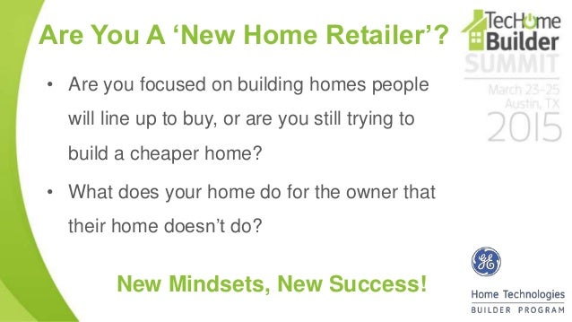 5 are you a new home - New Home Technologies