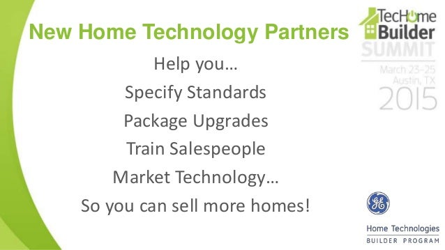 new home technology - New Home Technologies