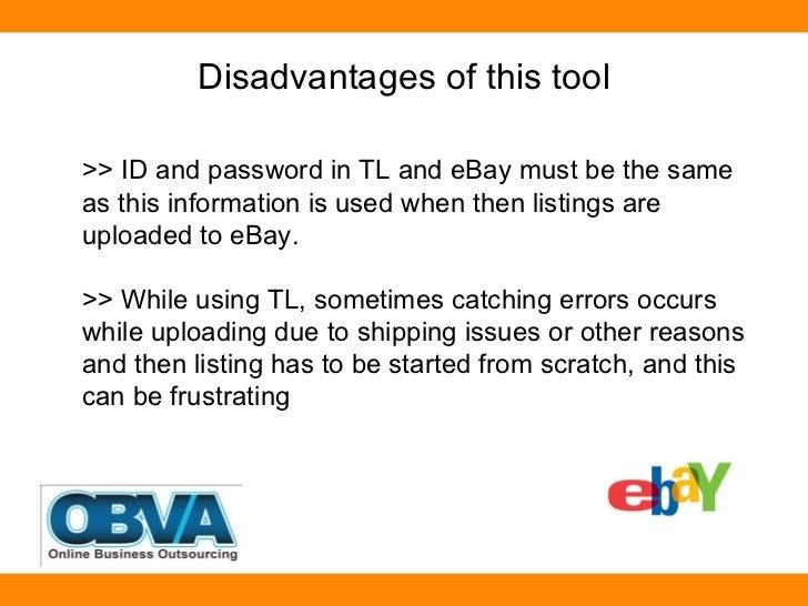 Part 1 Turbo Lister Top Ebay Marketing Tool Series Post By Ebay V