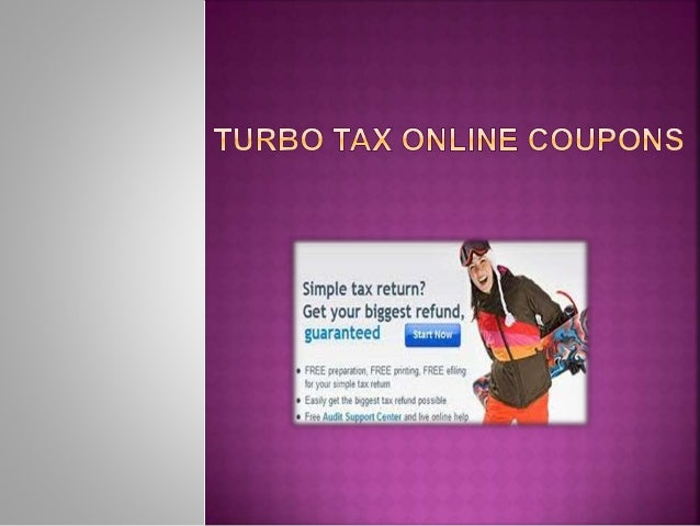 TurboTax was designed to get you your biggest tax refund, guaranteed. As the best-selling tax software on the market, TurboTax provides percent accurate calculations and expert advice via phone or live chat. Feel confident your taxes are being done right. Use the TurboTax coupons below to get free advice and save on software and tax services.