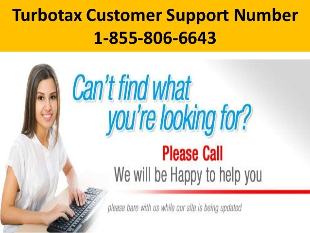 Turbotax Customer Support Number 1-855-806-6643