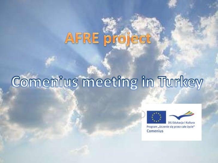 Turkey - Comenius meeting