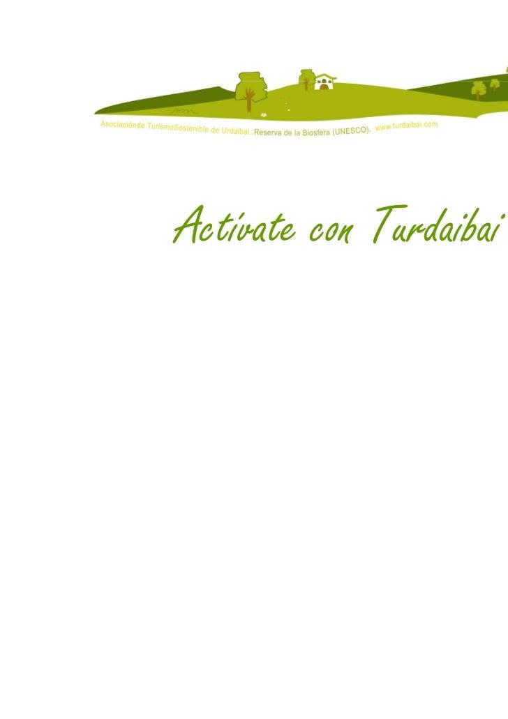 Actívate con Turdaibai 2010                              17