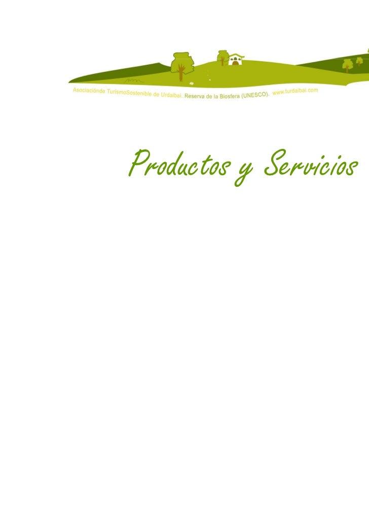 Productos y Servicios                        7