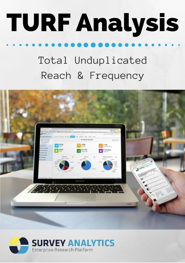 TURF Analysis  Total Unduplicated  Reach & Frequency