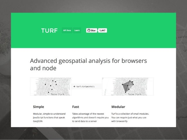 Install turf.js