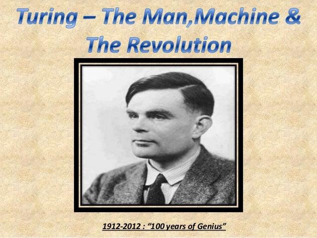 "1912-2012 : ""100 years of Genius"""