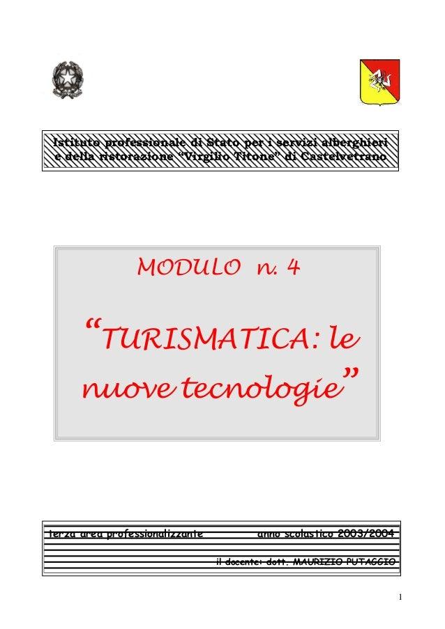 """Istituto professionale di Stato per i servizi alberghierie della ristorazione """"Virgilio Titone"""" di Castelvetrano          ..."""