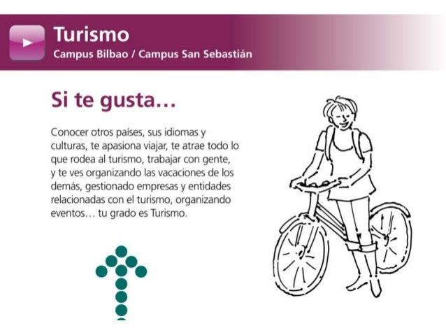 Grado en Turismo