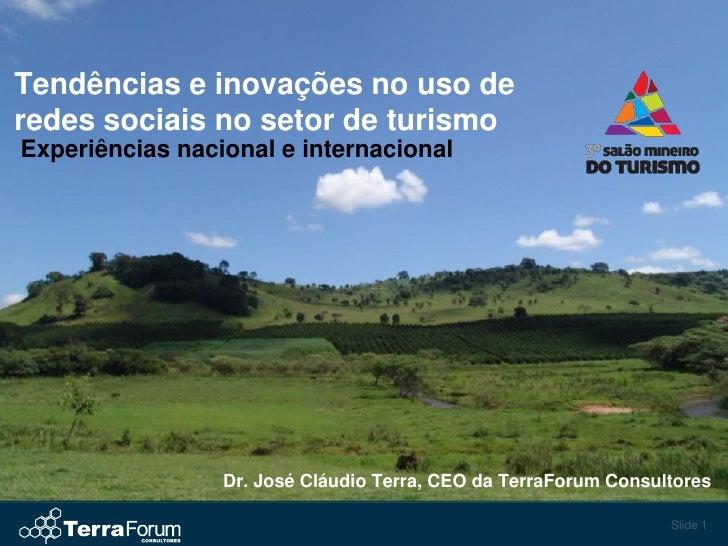 Tendências e inovações no uso de redes sociais no setor de turismo Experiências nacional e internacional                  ...