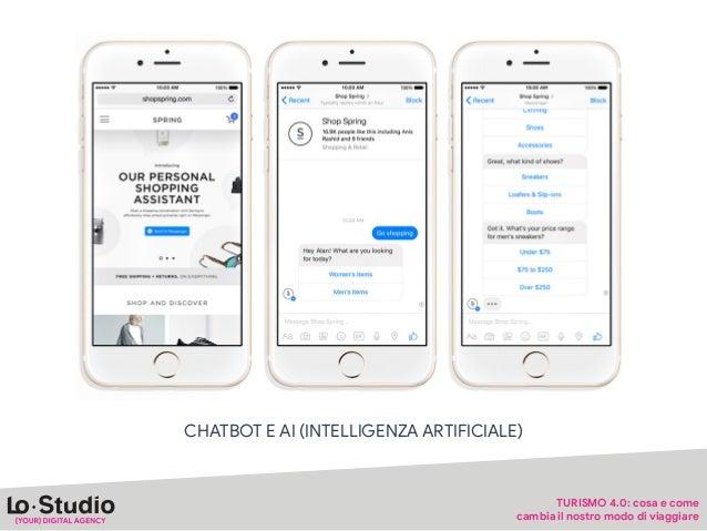 """CHAT BOT & AI """"Chat bot, chatbot o chaPerbot, è un so•ware progePato per simulare una conversazione con un essere umano. L..."""