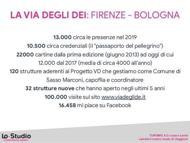 UN FUTURO DEL VIAGGIO SEMPRE PIÙ CONDIVISO E IMMERSO NELLA NATURA 1.100 presenze all'edizione 2019, 32 nazionalità rappres...