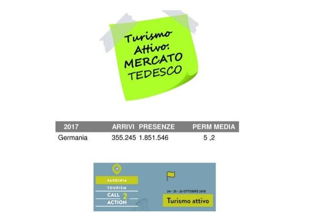 STC2A: Turismo attivo • mercato tedesco